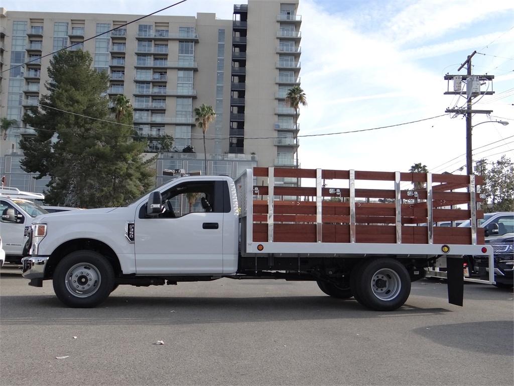 2020 F-350 Regular Cab DRW 4x2, Scelzi Stake Bed #G01174 - photo 1