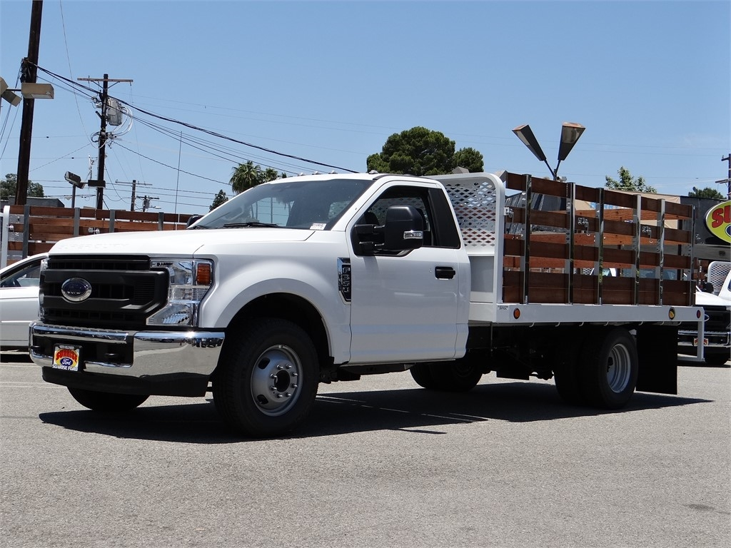 2020 Ford F-350 Regular Cab DRW 4x2, Scelzi Stake Bed #G01314 - photo 1