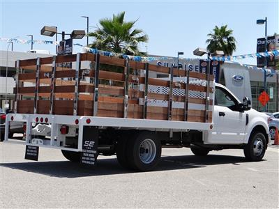 2020 Ford F-350 Regular Cab DRW 4x2, Scelzi WFB Stake Bed #G01314 - photo 10