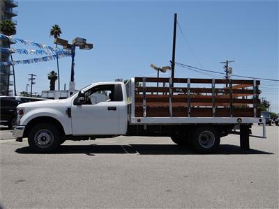 2020 Ford F-350 Regular Cab DRW 4x2, Scelzi WFB Stake Bed #G01314 - photo 3