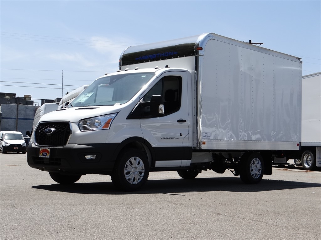 2020 Ford Transit 350 RWD, Marathon Cutaway Van #G01364 - photo 1