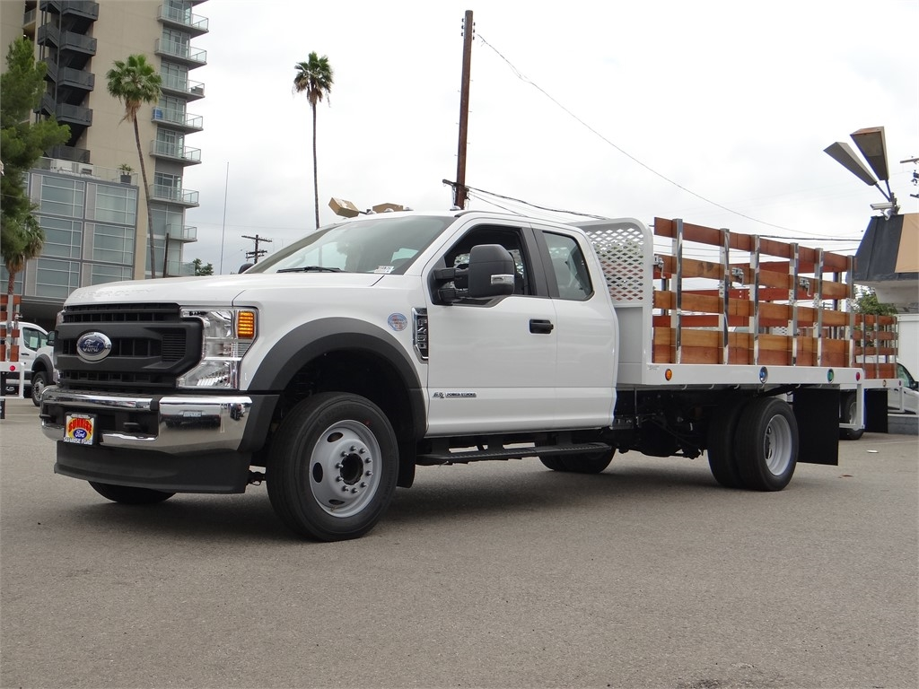 2020 Ford F-450 Super Cab DRW 4x2, Scelzi Stake Bed #G01369 - photo 1