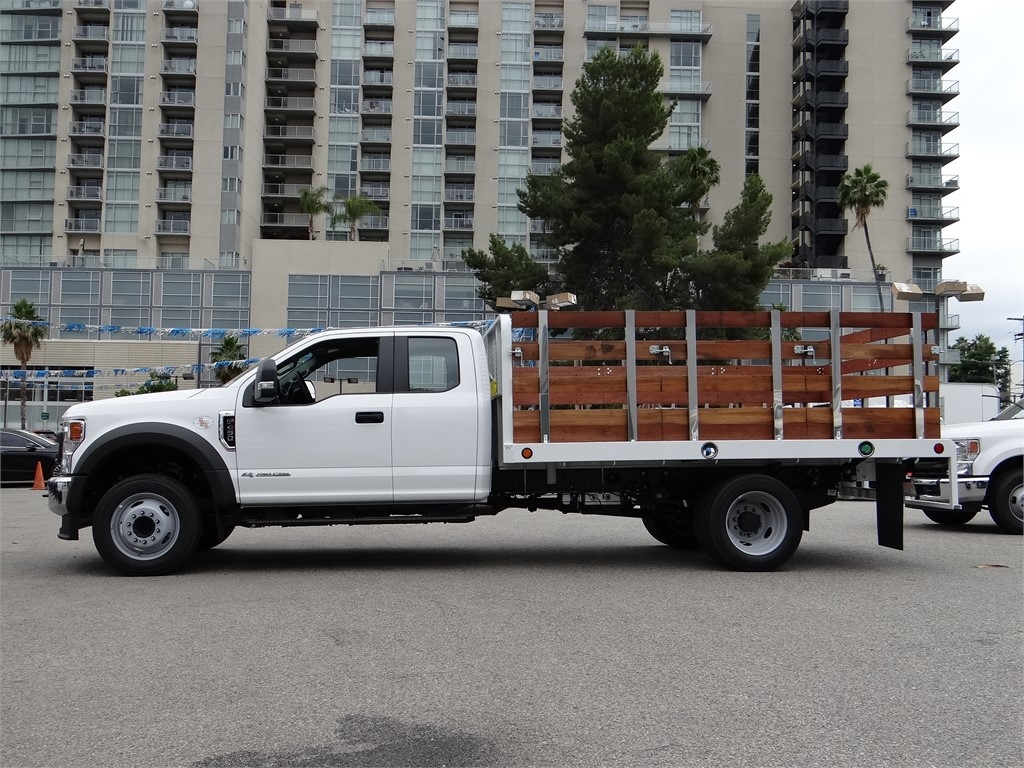 2020 Ford F-450 Super Cab DRW 4x2, Scelzi WFB Stake Bed #G01369 - photo 3