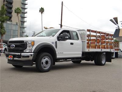 2020 Ford F-450 Super Cab DRW 4x2, Scelzi WFB Stake Bed #G01369 - photo 1