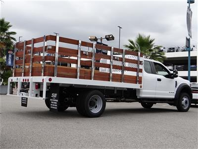 2020 Ford F-450 Super Cab DRW 4x2, Scelzi WFB Stake Bed #G01369 - photo 2
