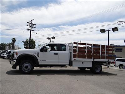 2020 Ford F-450 Super Cab DRW 4x2, Scelzi WFB Stake Bed #G01370 - photo 3