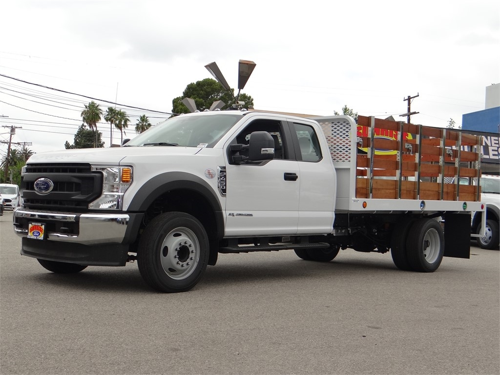 2020 Ford F-450 Super Cab DRW 4x2, Scelzi Stake Bed #G01378 - photo 1