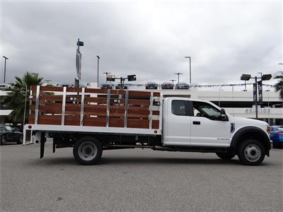 2020 Ford F-450 Super Cab DRW 4x2, Scelzi Stake Bed #G01378 - photo 11