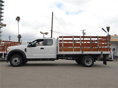 2020 Ford F-450 Super Cab DRW 4x2, Scelzi Stake Bed #G01378 - photo 3