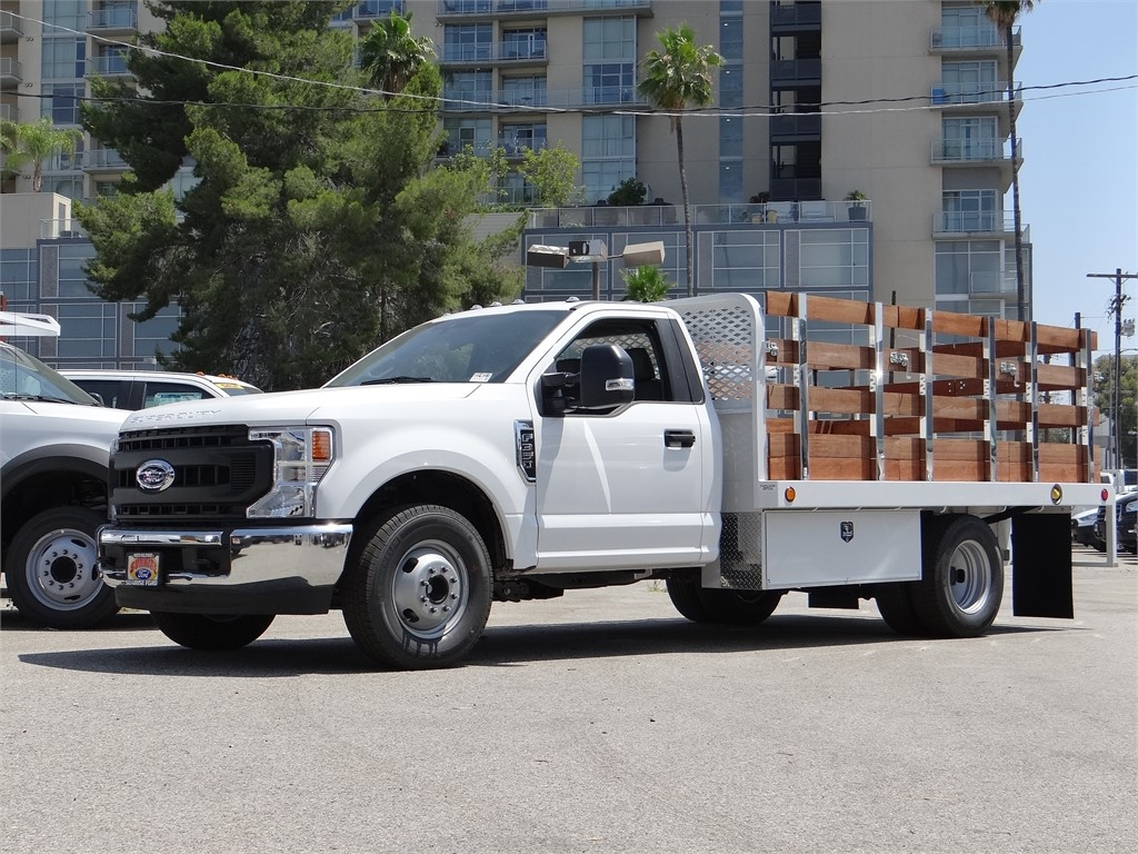 2020 Ford F-350 Regular Cab DRW 4x2, Scelzi Stake Bed #G01401T - photo 1