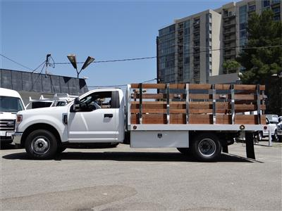 2020 Ford F-350 Regular Cab DRW 4x2, Scelzi WFB Stake Bed #G01401T - photo 3