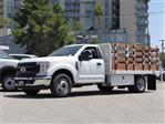 2020 Ford F-350 Regular Cab DRW 4x2, Scelzi WFB Stake Bed #G01401T - photo 1
