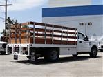 2020 Ford F-350 Regular Cab DRW 4x2, Scelzi WFB Stake Bed #G01401T - photo 2