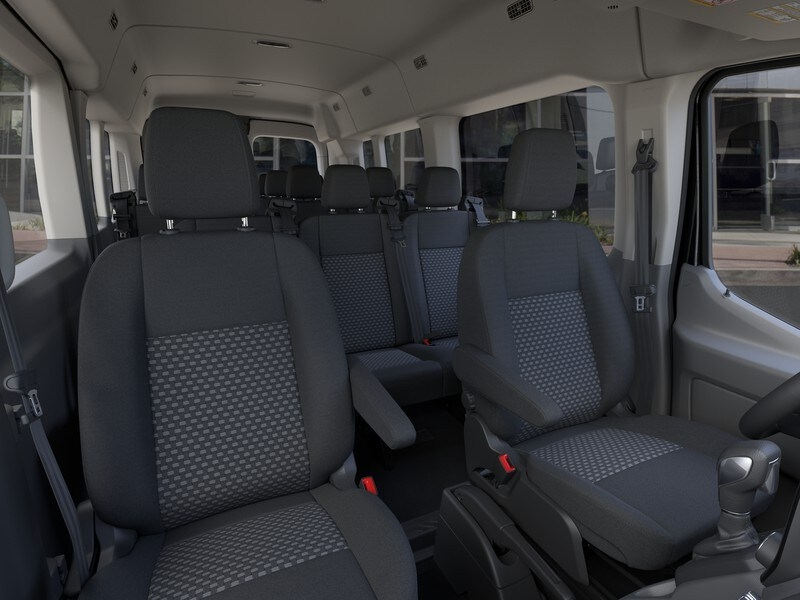 2020 Ford Transit 350 Med Roof RWD, Passenger Wagon #G01581 - photo 10