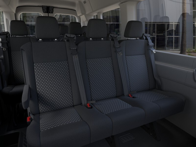 2020 Ford Transit 350 Med Roof RWD, Passenger Wagon #G01581 - photo 11