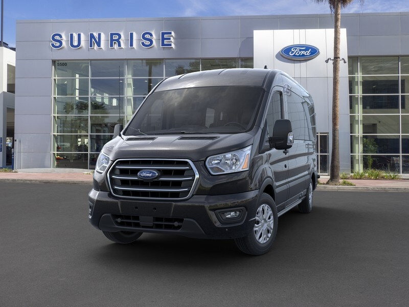 2020 Ford Transit 350 Med Roof RWD, Passenger Wagon #G01581 - photo 3