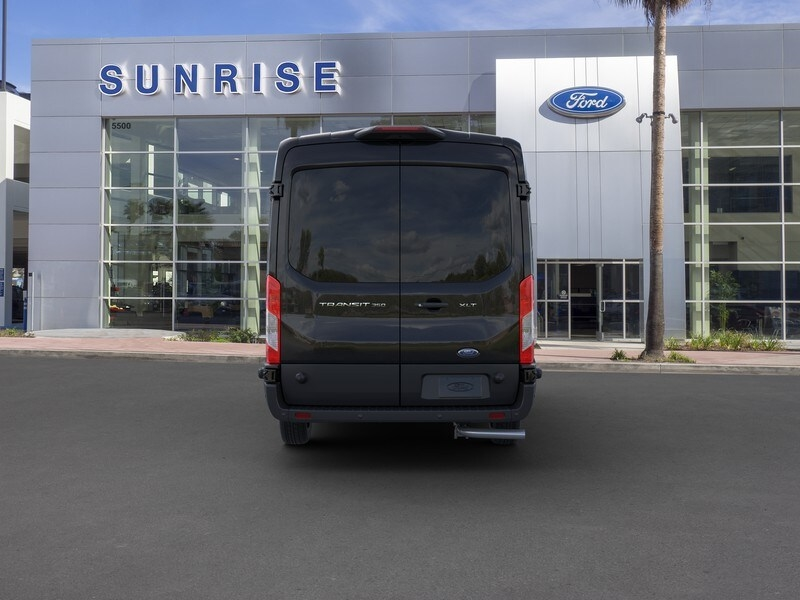 2020 Ford Transit 350 Med Roof RWD, Passenger Wagon #G01581 - photo 5