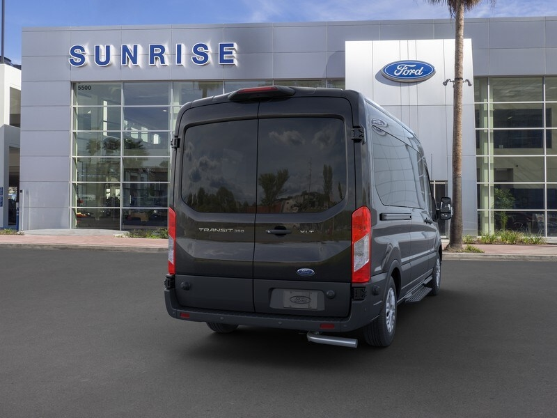 2020 Ford Transit 350 Med Roof RWD, Passenger Wagon #G01581 - photo 8