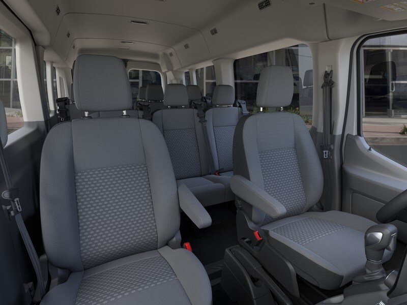2020 Ford Transit 350 Med Roof RWD, Passenger Wagon #G01582 - photo 10