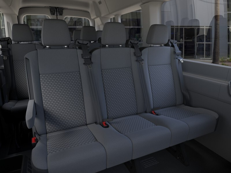 2020 Ford Transit 350 Med Roof RWD, Passenger Wagon #G01582 - photo 11