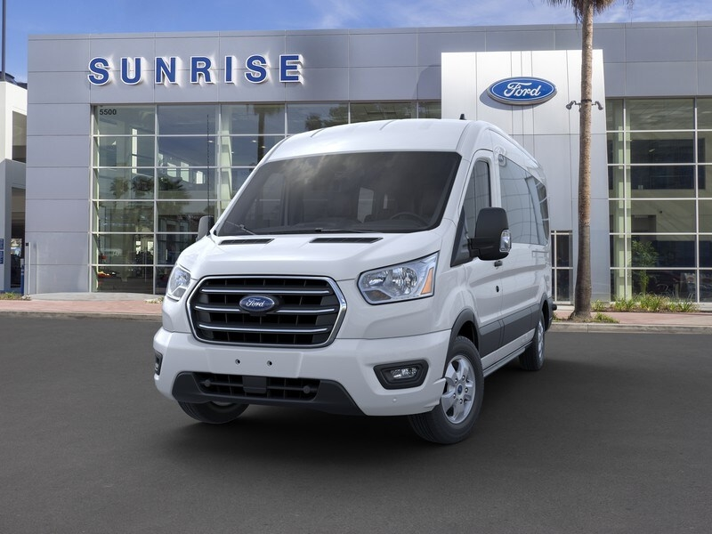2020 Ford Transit 350 Med Roof RWD, Passenger Wagon #G01582 - photo 3