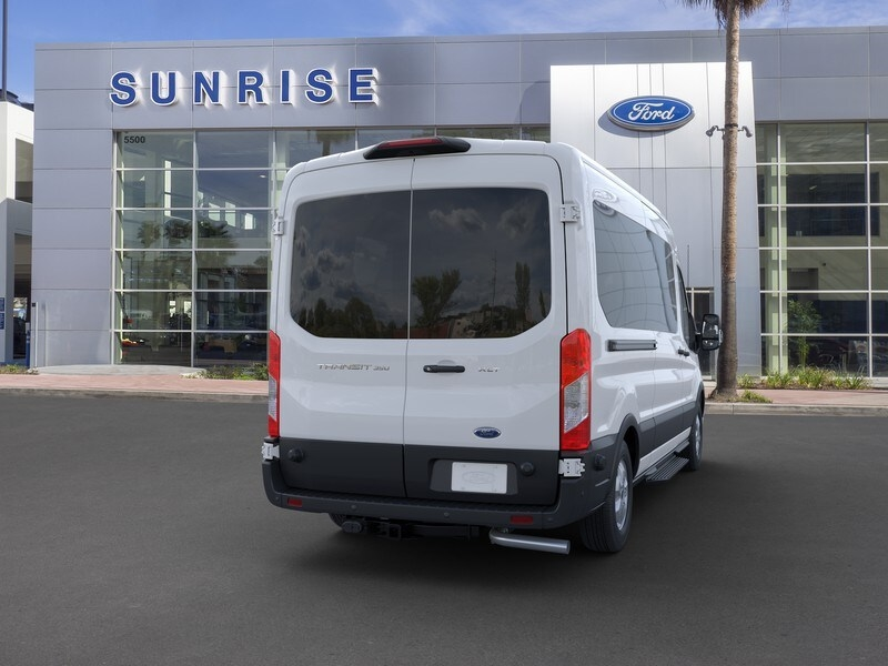 2020 Ford Transit 350 Med Roof RWD, Passenger Wagon #G01582 - photo 8