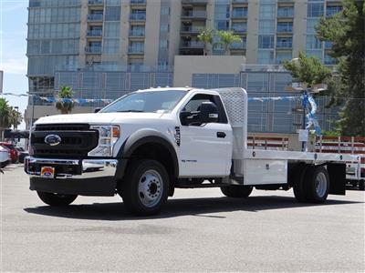 2020 Ford F-550 Regular Cab DRW 4x2, Scelzi Platform Body #G01596T - photo 1