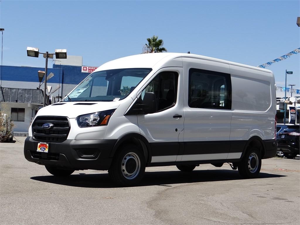 2020 Ford Transit 250 Med Roof RWD, Crew Van #G01632 - photo 1