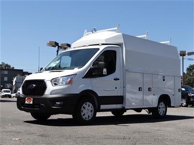 2020 Ford Transit 350 RWD, Knapheide KUV Service Utility Van #G01644 - photo 1