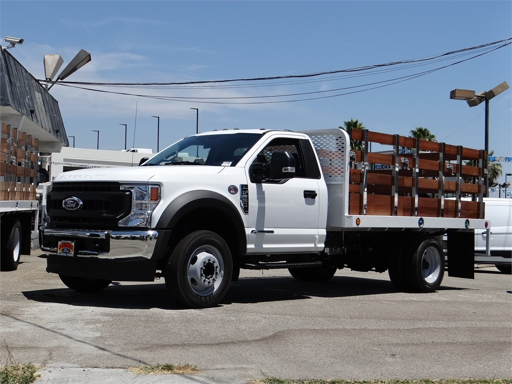 2020 Ford F-550 Regular Cab DRW 4x2, Scelzi Stake Bed #G01677 - photo 1