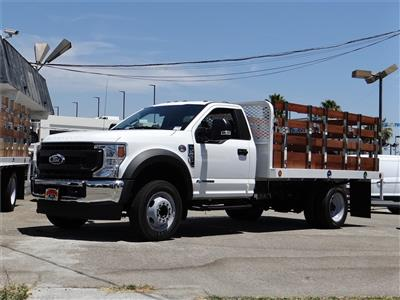 2020 Ford F-550, Scelzi Stake Bed
