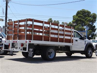 2020 Ford F-550 Regular Cab DRW 4x2, Scelzi WFB Stake Bed #G01677 - photo 2