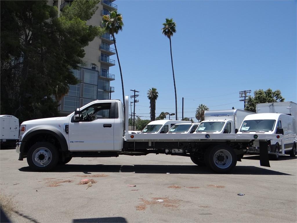 2020 Ford F-450 Regular Cab DRW 4x2, Scelzi WFB Platform Body #G01687 - photo 3