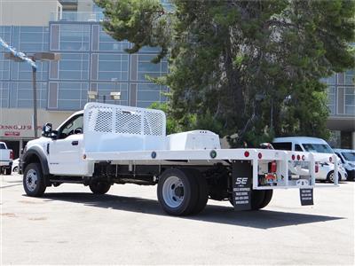 2020 Ford F-450 Regular Cab DRW 4x2, Scelzi WFB Platform Body #G01687 - photo 2