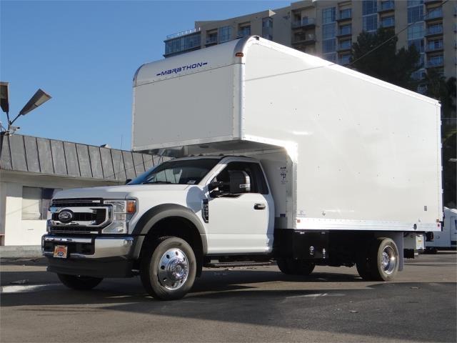 2020 Ford F-550 Regular Cab DRW 4x2, Marathon Dry Freight #G01749 - photo 1