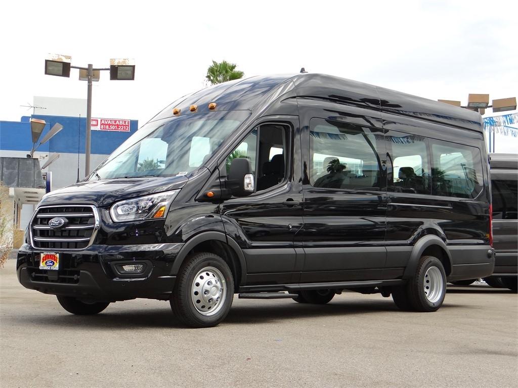 2020 Ford Transit 350 HD High Roof DRW RWD, Passenger Wagon #G01859 - photo 1