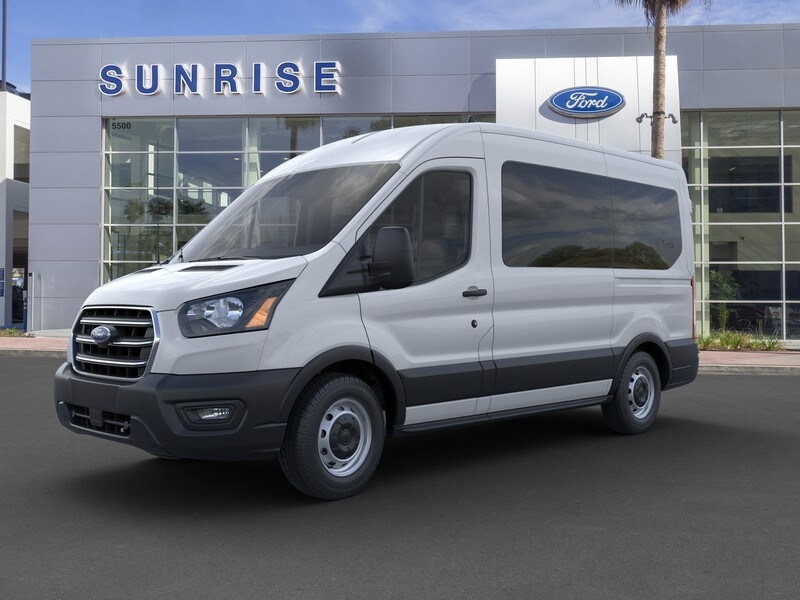 2020 Ford Transit 150 Med Roof RWD, Passenger Wagon #G01863 - photo 1