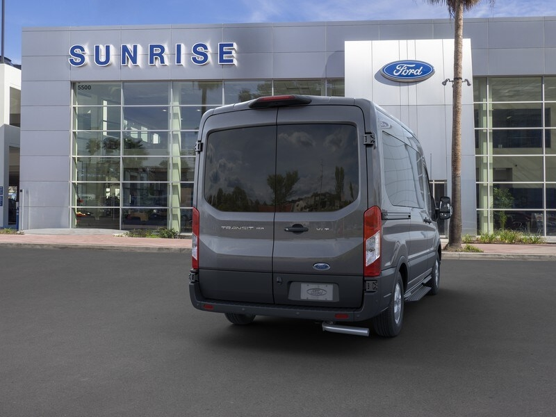 2020 Ford Transit 150 Med Roof 4x2, Passenger Wagon #G02050 - photo 8