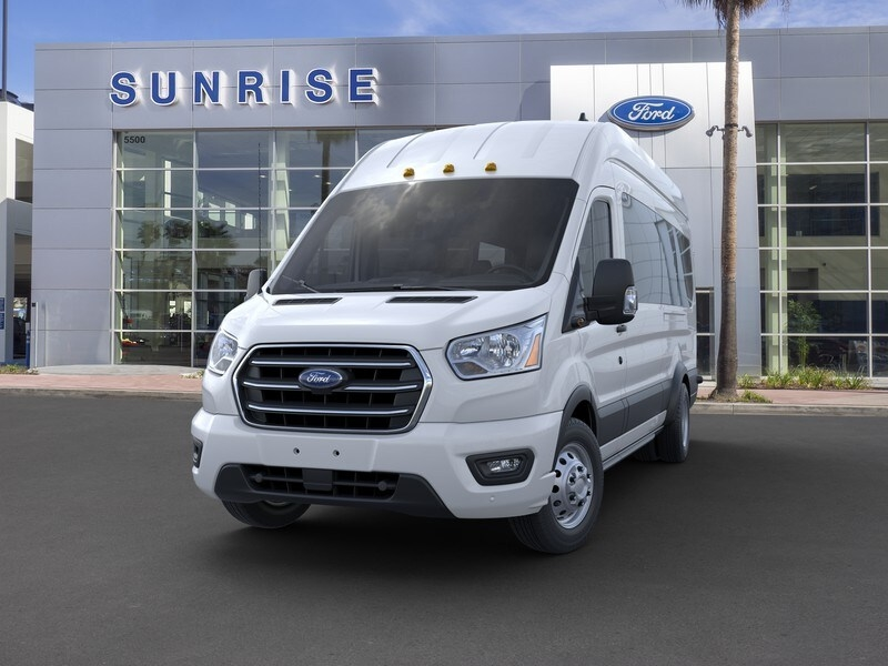 2020 Ford Transit 350 HD High Roof DRW RWD, Passenger Wagon #G02115 - photo 3