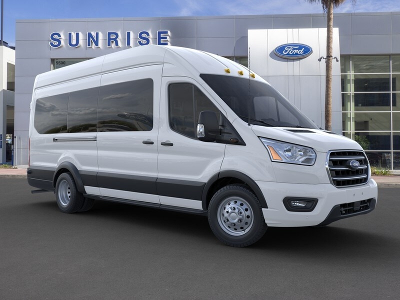 2020 Ford Transit 350 HD High Roof DRW RWD, Passenger Wagon #G02115 - photo 7