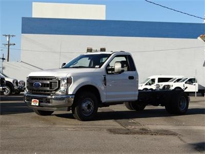 2020 Ford F-350 Regular Cab DRW 4x2, Cab Chassis #G02124 - photo 1
