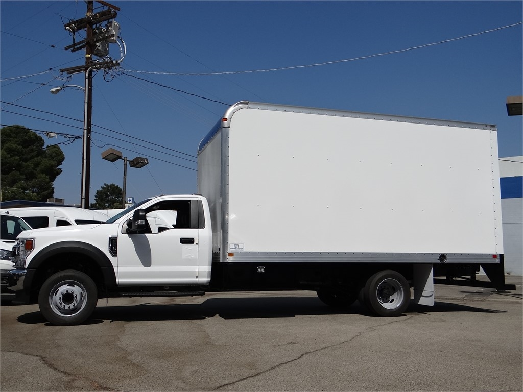 2020 Ford F-550 Regular Cab DRW 4x2, Marathon FRP High Cube Dry Freight #G02142 - photo 3