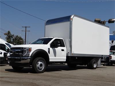2020 Ford F-550 Regular Cab DRW 4x2, Marathon FRP High Cube Dry Freight #G02142 - photo 1