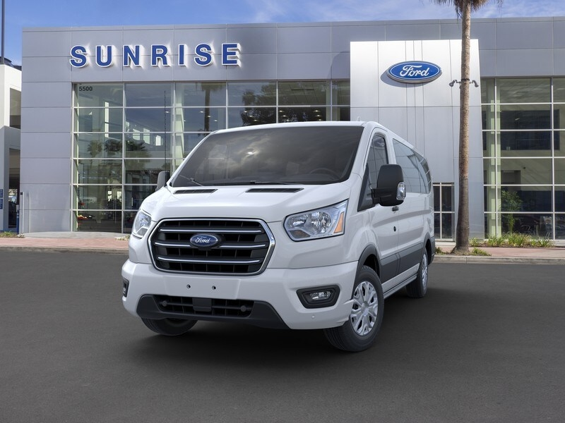 2020 Ford Transit 150 Low Roof RWD, Passenger Wagon #G02199 - photo 3