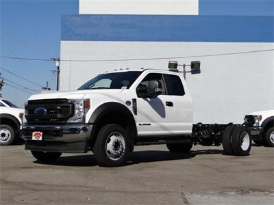 2020 Ford F-550 Super Cab DRW 4x2, Cab Chassis #G02450 - photo 1