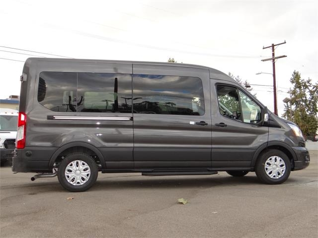 2020 Ford Transit 350 Med Roof 4x2, Passenger Wagon #G02579 - photo 9