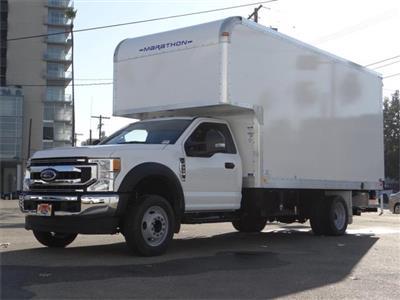 2020 Ford F-550 Regular Cab DRW 4x2, Marathon FRP High Cube Dry Freight #G02690 - photo 1