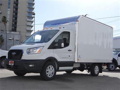 2020 Ford Transit 350 4x2, Marathon Aluminum High Cube Cutaway Van #G02749 - photo 1