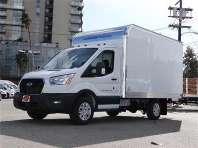 2020 Ford Transit 350 4x2, Marathon Aluminum High Cube Cutaway Van #G02750 - photo 1