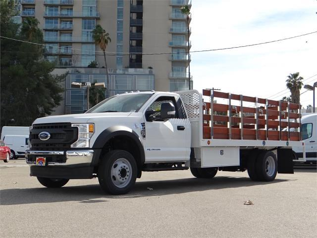 2020 Ford F-550 Regular Cab DRW 4x2, 16' Stakebed #G02759 - photo 1